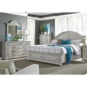 Liberty Furniture Summer House II Queen Bedroom Group - Item Number: 407-BR-QSBDM