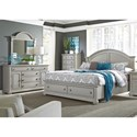 Liberty Furniture Summer House II Queen Bedroom Group - Item Number: 407-BR-QSBDMC