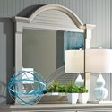 Liberty Furniture Summer House II Mirror with Wood Frame - Item Number: 407-BR51