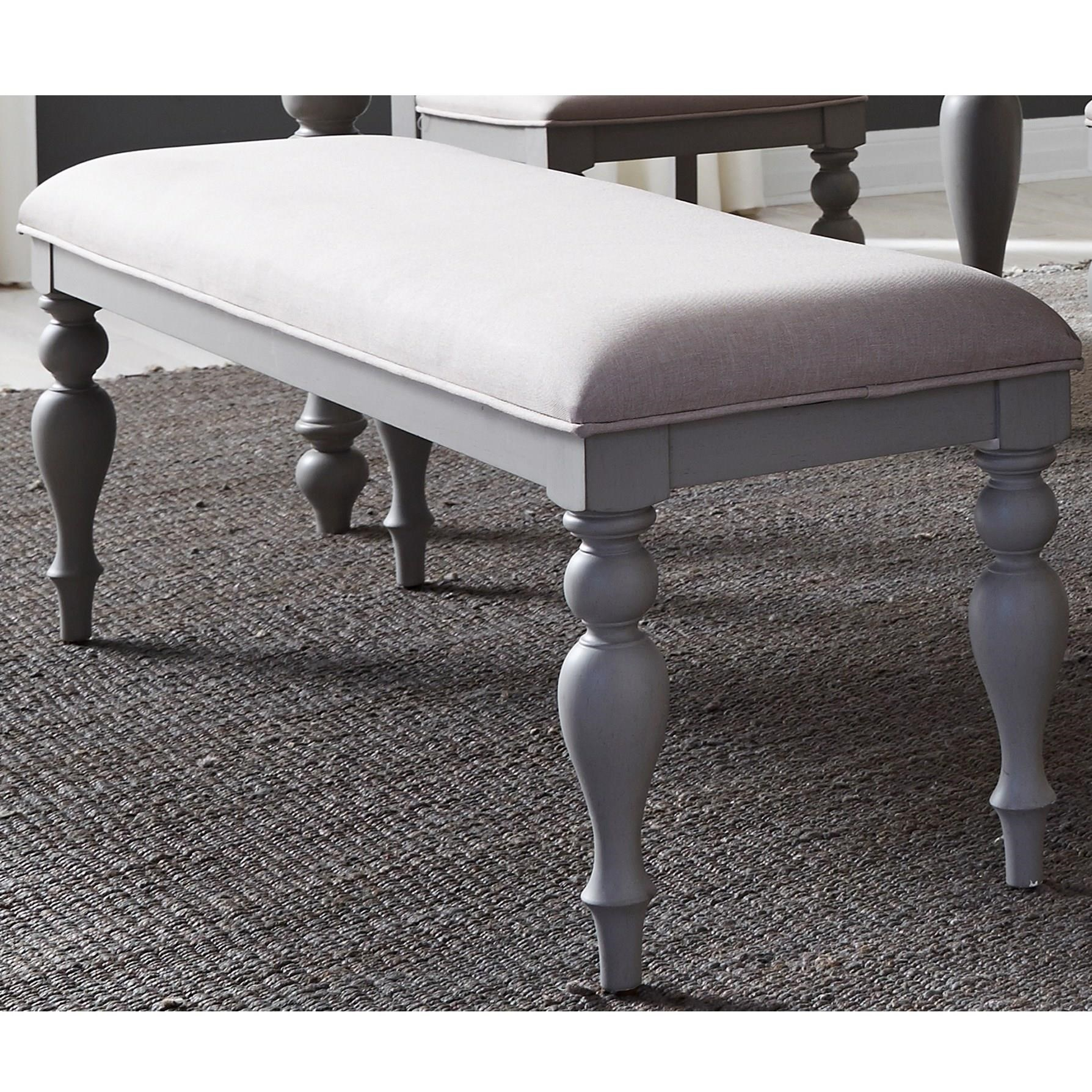 Liberty Furniture Summer House Dining Bench - Item Number: 407-C9001B