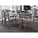 Liberty Furniture Summer House Dining 7 Piece Rectangular Table Set  - Item Number: 407-CD-7RLS