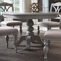 Liberty Furniture Summer House Dining Round Pedestal Table - Item Number: 407-CD-PDS