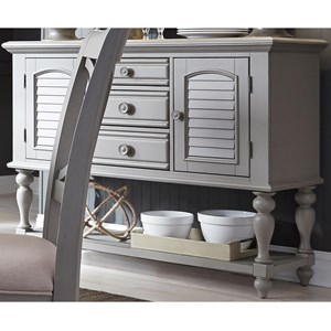 Liberty Furniture Summer House Dining Server