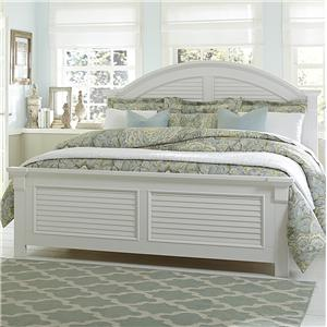 Liberty Furniture Summer House Queen Panel Bed