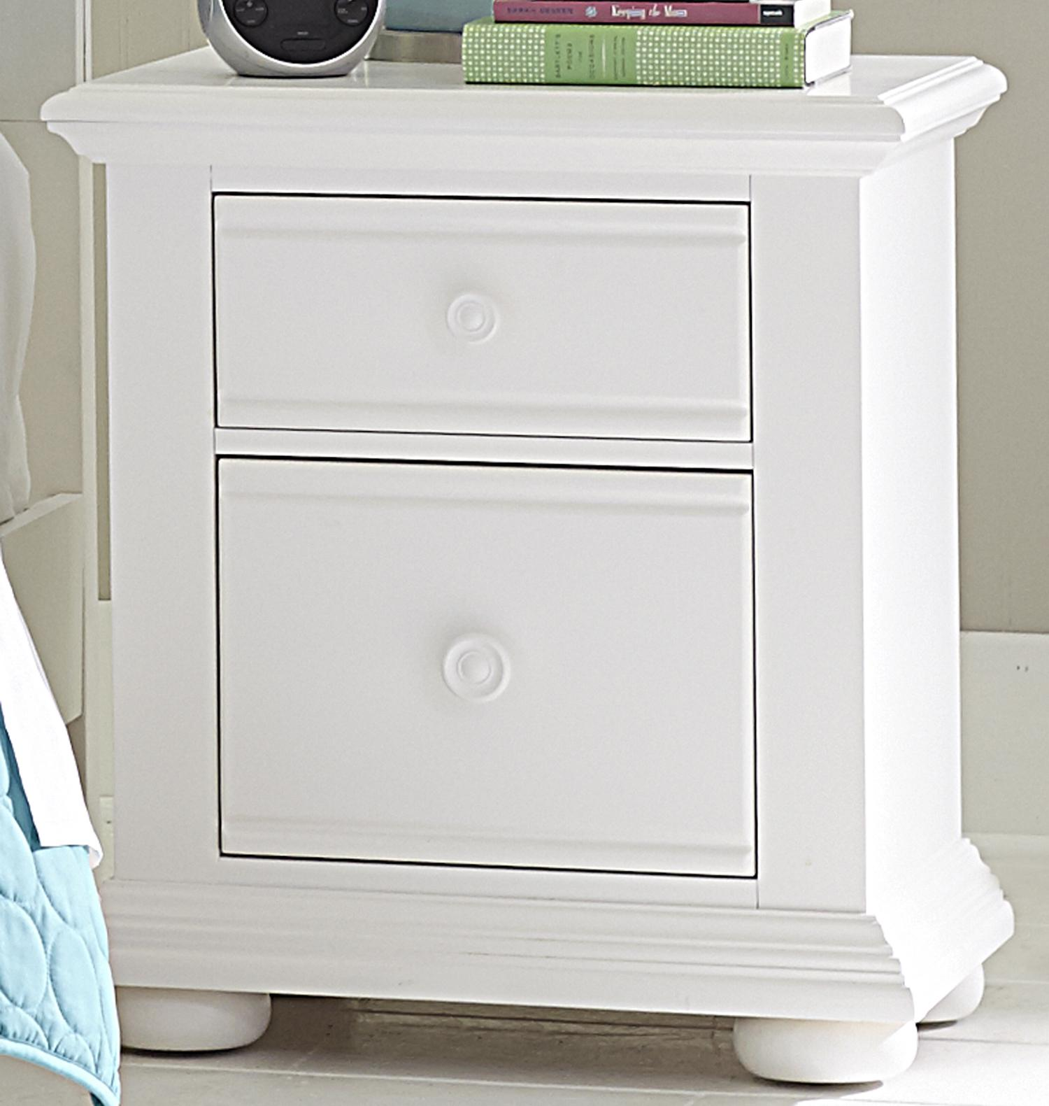 Summer House 2 Drawer Night Stand by Liberty Furniture at VanDrie Home Furnishings