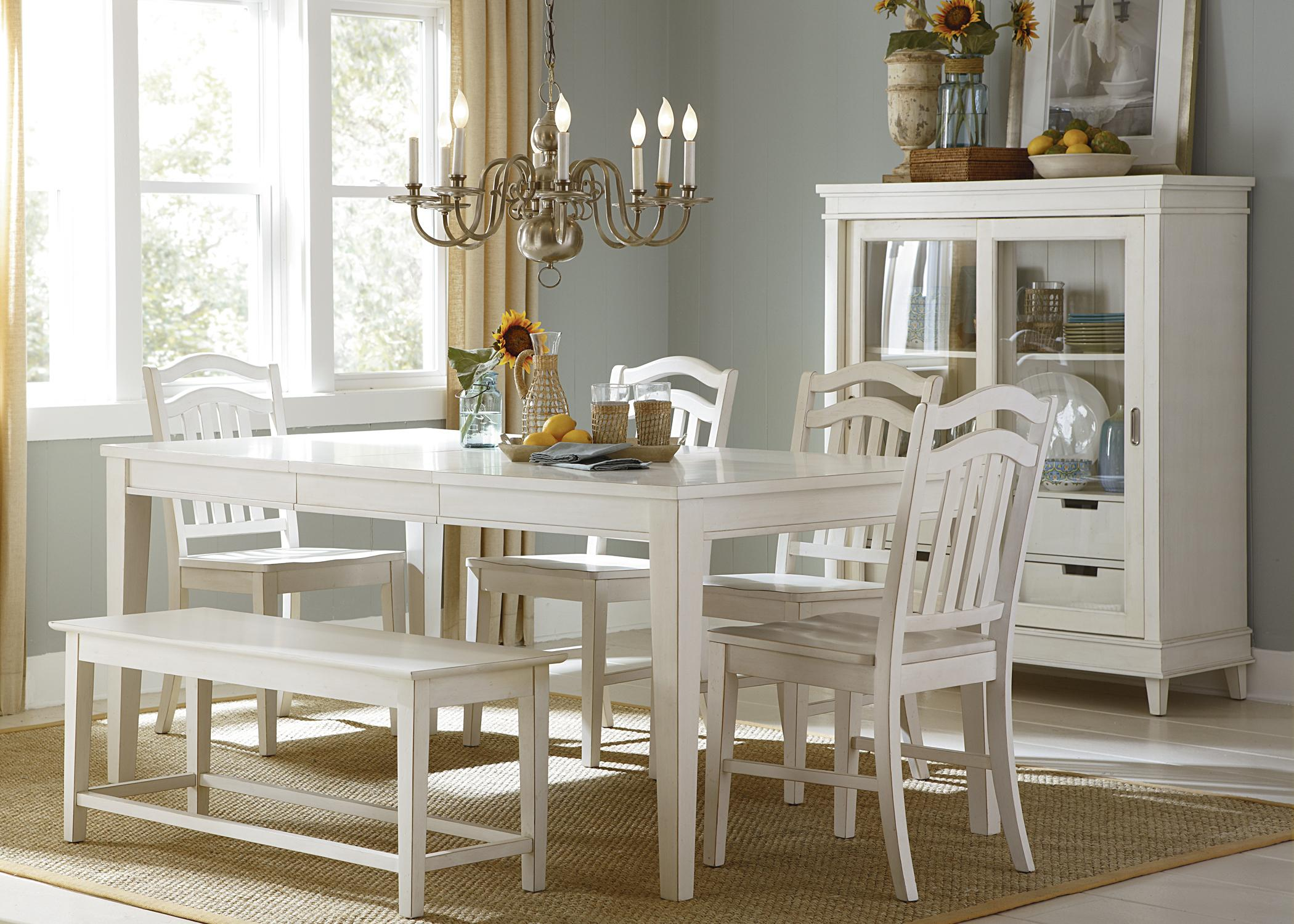 Liberty Furniture Summerhill 6-Piece Dining Set  - Item Number: 518-CD-SET191