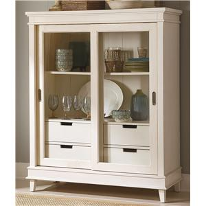 Liberty Furniture Summerhill Display Cabinet