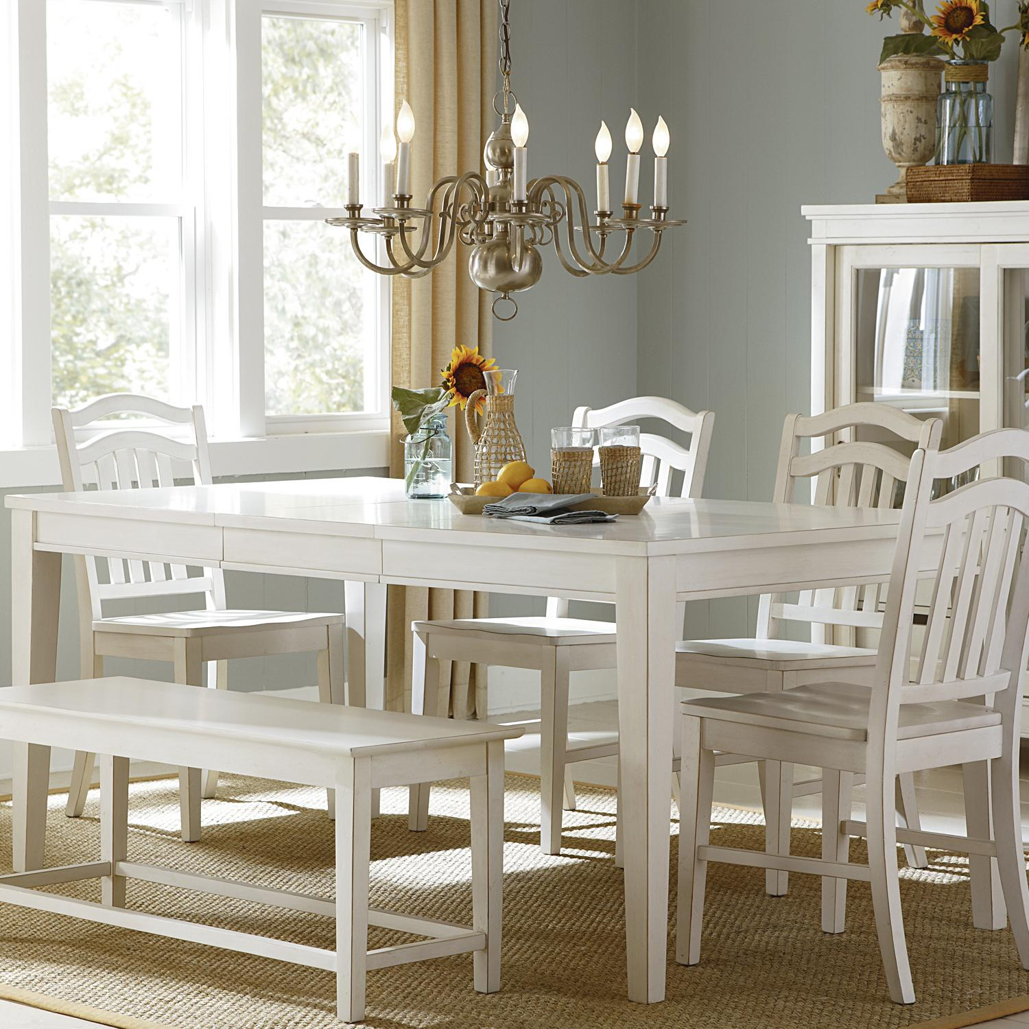 Liberty Furniture Summerhill Rectangular Leg Dining Table Wayside Furniture Dining Tables