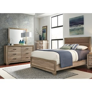 Liberty Furniture Sun Valley 439 Full Bedroom Group