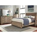 Liberty Furniture Sun Valley Queen Bedroom Group - Item Number: 439-BR-QUBDM