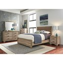 Liberty Furniture Sun Valley Queen Bedroom Group - Item Number: 439-BR-QUBDMN