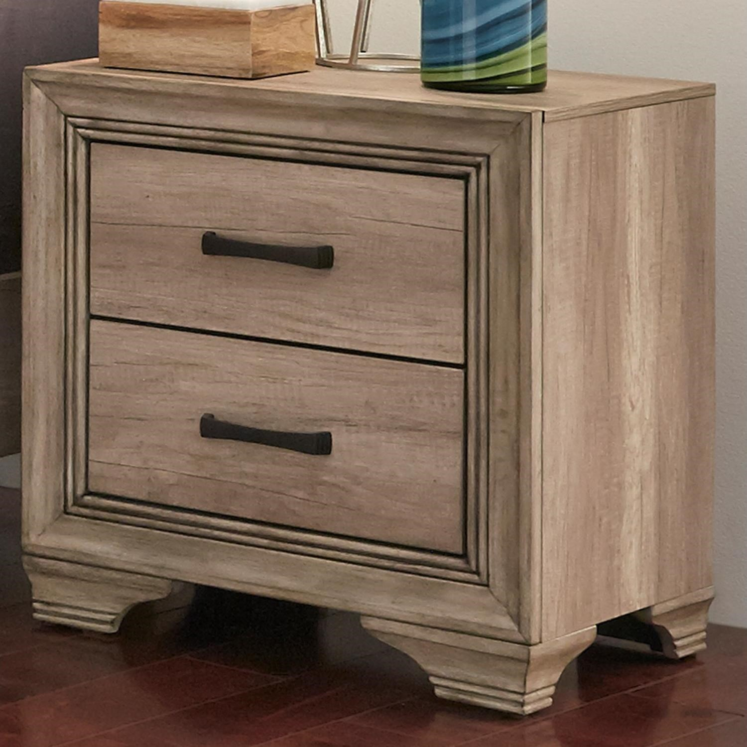 Liberty Furniture Sun Valley 439 2 Drawer Night Stand - Item Number: 439-BR61