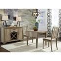 Liberty Furniture Sun Valley 3 Piece Drop Leaf Set - Item Number: 439-DR-3DLS