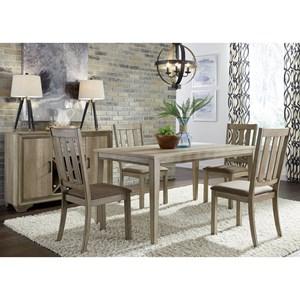 Liberty Furniture Sun Valley 5 Piece Leg Table Set