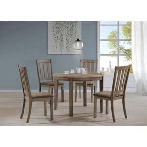 Liberty Furniture Sun Valley 439 5 Piece Round Table Set