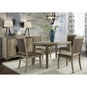 Liberty Furniture Sun Valley Opt 5 Piece Cafe Table Set - Item Number: 439-DR-O5CTS