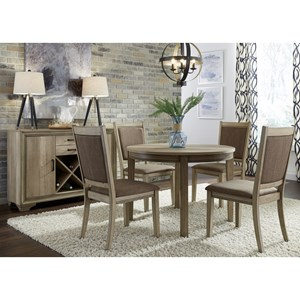 Liberty Furniture Sun Valley Opt 5 Piece Round Table Set