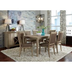 Liberty Furniture Sun Valley Opt 7 Piece Rectangular Table Set