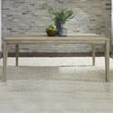 Liberty Furniture Sun Valley Rectangular Leg Table - Item Number: 439-T3672