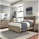 Freedom Furniture Sun Valley 4-Piece Queen Bedroom Set - Item Number: B19439-Q4PC