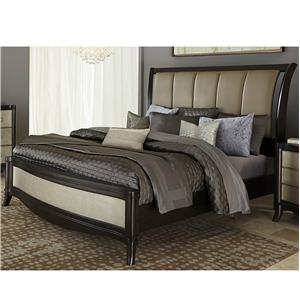 Vendor 5349 Sunset Boulevard Queen Sleigh Bed Set