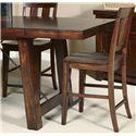 Liberty Furniture Tahoe Slat Back Counter Chair - Item Number: 555-B150024