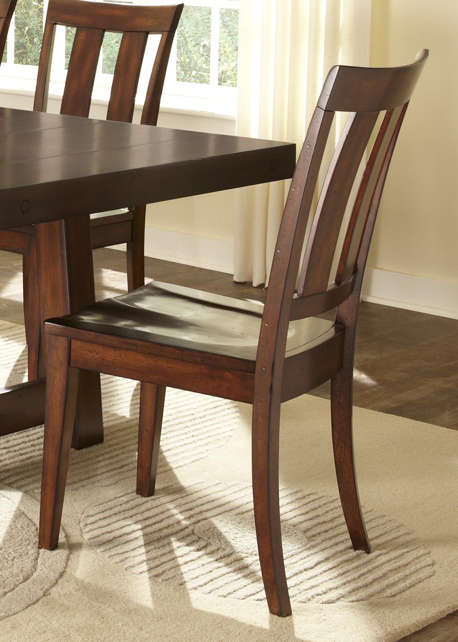 Ordinaire Liberty Furniture Tahoe Slat Back Side Chair   Item Number: 555 C1500S