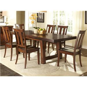 Vendor 5349 Tahoe 7 Piece Dining Table Set