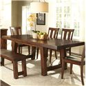 Vendor 5349 Tahoe Trestle Table - Item Number: 555-T4090