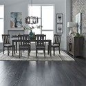Liberty Furniture Tanners Creek Dining Room Group - Item Number: 686 Dining Room Group 12