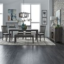 Liberty Furniture Tanners Creek Dining Room Group - Item Number: 686 Dining Room Group 9