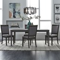 Liberty Furniture Tanners Creek 5 Piece Table and Chair Set - Item Number: 686-CD-O5RLS
