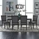 Liberty Furniture Tanners Creek 7 Piece Rectangular Table Set - Item Number: 686-CD-O7RLS