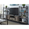Liberty Furniture Tanners Creek Entertainment Center with Piers  - Item Number: 686-ENTW-ECP