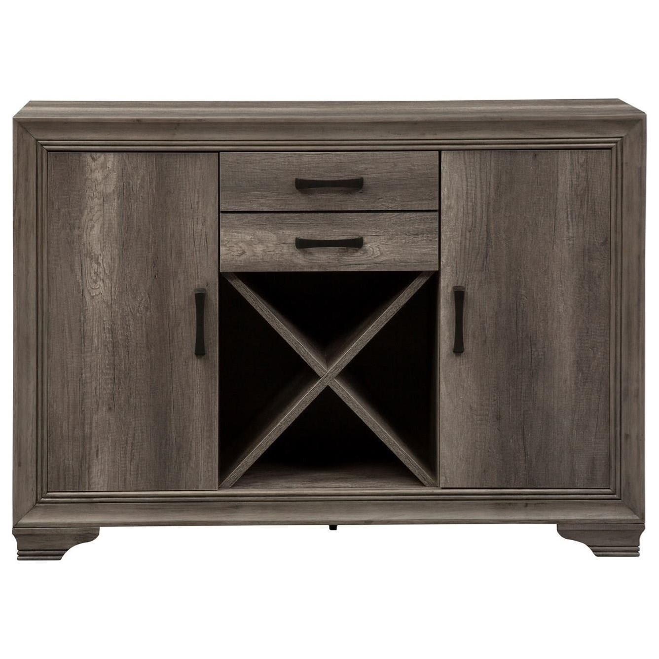 Tanners Creek Server by Liberty Furniture at Johnny Janosik