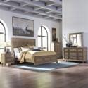 Liberty Furniture The Laurels Queen Bedroom Group - Item Number: 725-BR-OQPBDMCN