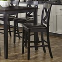 Vendor 5349 Thornton X-Back Counter Chair - Item Number: 464-CD-2PK-C