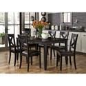 Liberty Furniture Thornton 7 Piece Rectangular Table Set - Item Number: 464-CD-7RLS