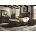 Liberty Furniture Thornwood Hills King Bedroom Group - Item Number: 759-BR-K2SDMCN