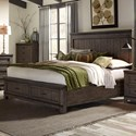 Liberty Furniture Thornwood Hills King Storage Bed - Item Number: 759-BR-KSB