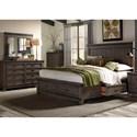 Liberty Furniture Thornwood Hills Queen Bedroom Group - Item Number: 759-BR-Q2SDMC