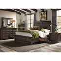 Sarah Randolph Designs Thornwood Hills Queen Bedroom Group - Item Number: 759-BR-Q2SDMN