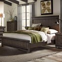Vendor 5349 Thornwood Hills Queen Panel Bed - Item Number: 759-BR-QPB