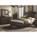Liberty Furniture Thornwood Hills Queen Bedroom Group - Item Number: 759-BR-QPBDMC