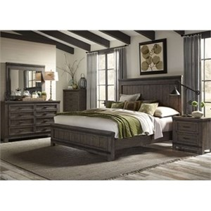 Vendor 5349 Thornwood Hills Queen Bedroom Group