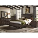 Liberty Furniture Thornwood Hills King Bedroom Group - Item Number: 759-BR-KPBDMN