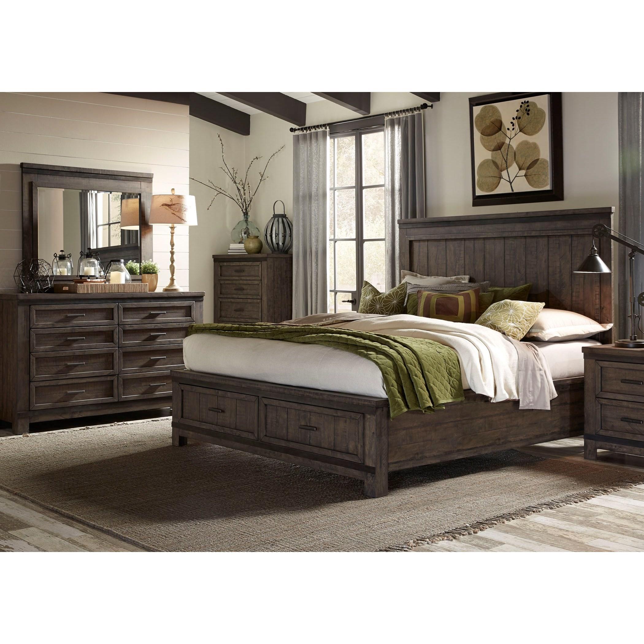 Bedroom Groups: Vendor 5349 Thornwood Hills 759-BR-QSBDM Queen Bedroom