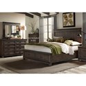 Liberty Furniture Thornwood Hills Queen Bedroom Group - Item Number: 759-BR-QSBDM