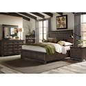 Liberty Furniture Thornwood Hills Queen Bedroom Group - Item Number: 759-BR-QSBDMN
