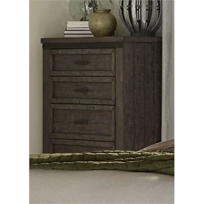 Liberty Furniture Thornwood Hills 5 Drawer Chest - Item Number: 759-BR41